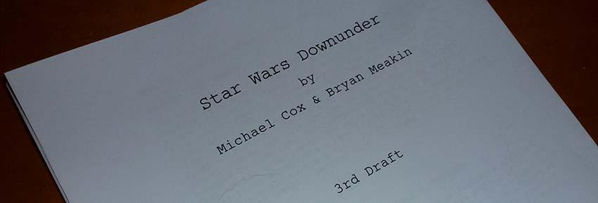 Star Wars Downunder Fan Film Script