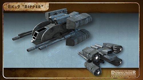Star_Wars_Downunder_Fan_Film_Vehicles_BK-9 Ripper
