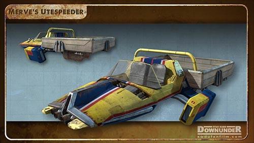 Star_Wars_Downunder_Fan_Film_Vehicles_Merves_Ute_Speeder