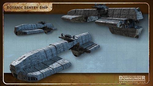 Star_Wars_Downunder_Fan_Film_Vehicles_Sentry_Ship